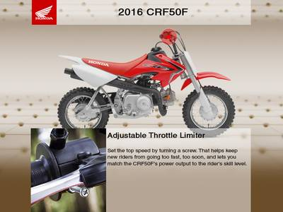 2016 Honda® CRF50F Base | Sun Enterprises | Denver, CO